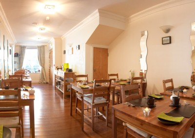 Elephant Guest House Dining Room